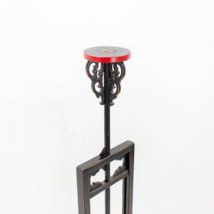 19th Century Chinese Adjustable Lantern Stand
