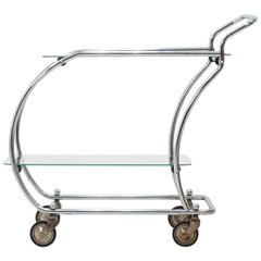 Chrome Art Deco Trolley