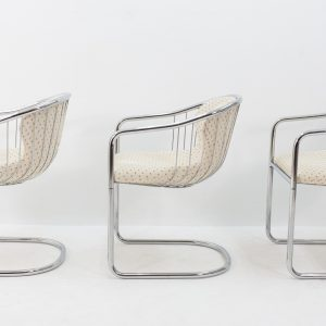Three Gastone Rinaldi chairs