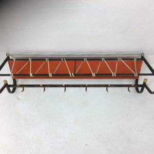 50s Dutch wall coatrack