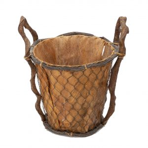 wooden  Grape bucket