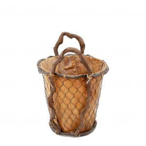 wooden  Grape bucket