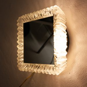 vintage back light mirror