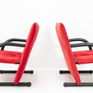 'T-Line' lounge chairs  by Burkhard Vogtherr for Arflex