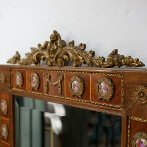 antique medallion mirror