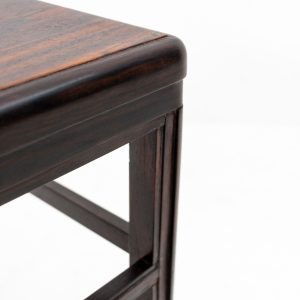 Art Deco Coromandel wood side table