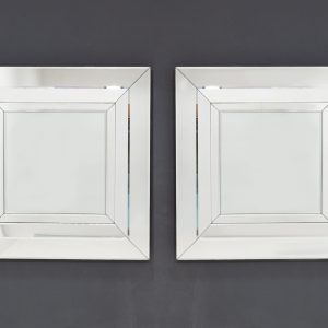 Two large Deknudt wall mirrors