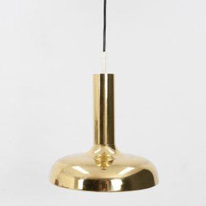 Vintage Brass ceiling lamp Fog & Morup style