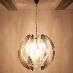Very large Sompex pendant lamp