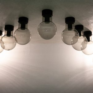 Raak Globe pendant lamps  8 pieces outdoor and indoor use use