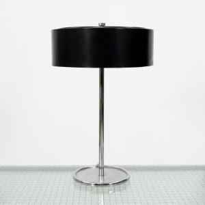 Vintage small metal table lamp