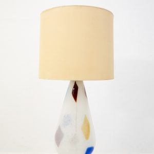 Dino Martens glass lamp stand by Aureliano Toso