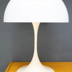 Two large Panthella Verner Panton table lamps