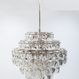 Kinkeldey 6 tiered Chrystal chandelier  1970s