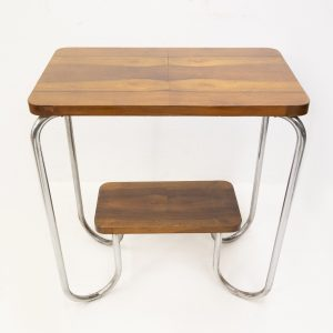 Art Deco side table  attributed Gispen Holland