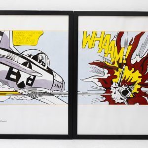 Two offset litho s Roy Lichtenstein   WHAAM