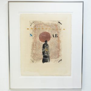 James Coignard  Carborundum  Etching 1970s