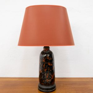 Bitossi style Art Deco Table lamp