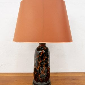 Bitossi style Art Deco Table lamp