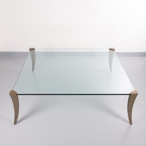 Peter Ghyczy large square coffee table