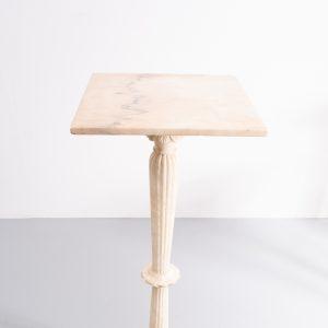 Marble pedestal Italian 1960s