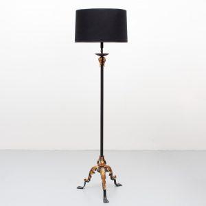 Classic Creek style Floor lamp France 1970s