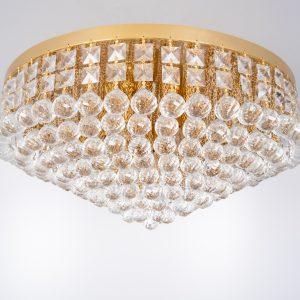 Large Swarovski Chrystal ball chandelier 1970s
