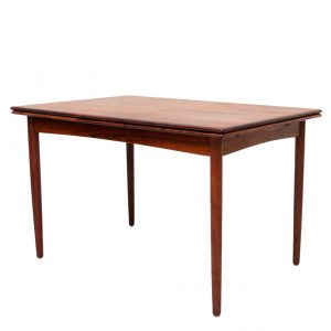 Rosewood expendable  Dining table Denmark 1960s