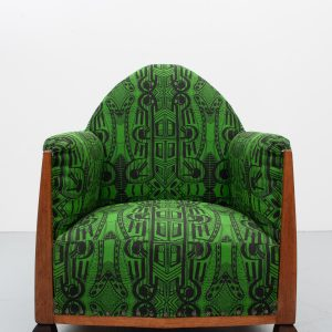 Amsterdam School  lounge chair   Paul Bromberg  1920s
