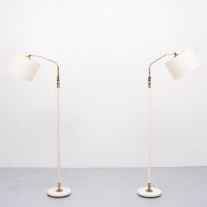 Floor lamps France 1950s