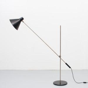 Anvia Floor lamp  J.J M Hoogervorst  Holland 1950s