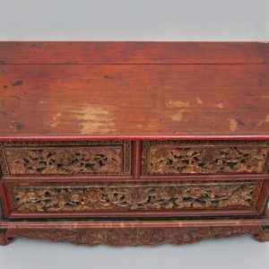 Antique Indonesian blanked chest