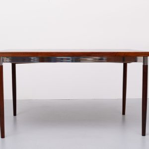 Thereca expendable  Rosewood dining table Holland 1970s
