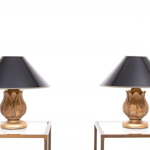 Pineapple table lamps  France  1970s