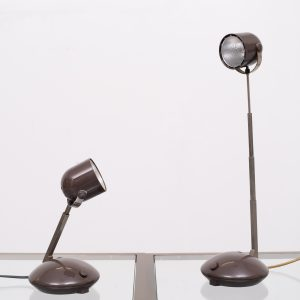 Eichhoff Telescope bedside table lamps 1970s