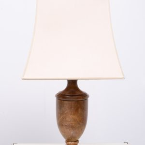 Neoclassical Alabaster table lamps Italy 1980s