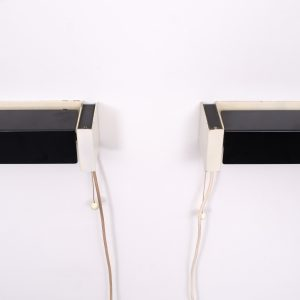Hiemstra Evolux  bed lamps  1950s
