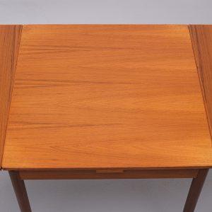 Pastoe Teak extendable dining table Holland 1960s