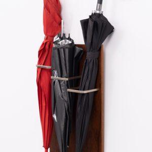 Mahogany hanging Umbrella stand 1960s