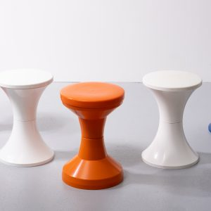 Vintage 5  Giganplast  and  TamTam   stools