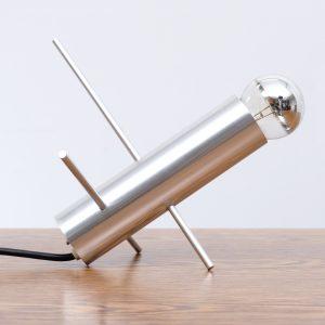 Raak Amsterdam cricket  table lamp .Design  Otto Wasch